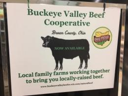 Buckeye Valley Beef Cooperative, Georgetown, Ohio.